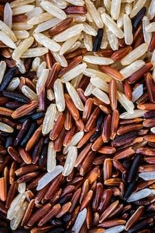 Close-up van gemengde rijst