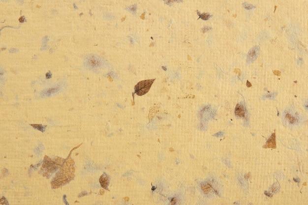 Close-up van handgeschept papier textuur achtergrond. gerecycled papier.