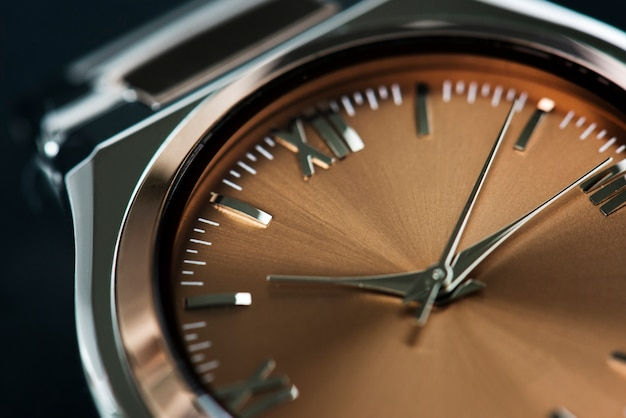 Close-up van horloge