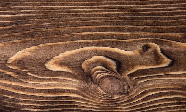 Close-up van houten textuur met cirkels en lijnen