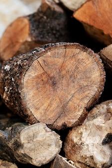 Close-up van houtstructuur achtergrond
