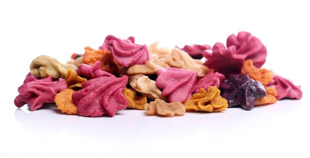 Close up van kleurrijke snoepjes