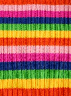 Close-up van kleurrijke wollen oppervlak. gebruik voor achtergrond of textuur