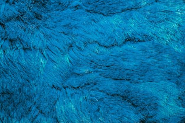 Close-up van lapin gekleurd bont voor textuurachtergrond