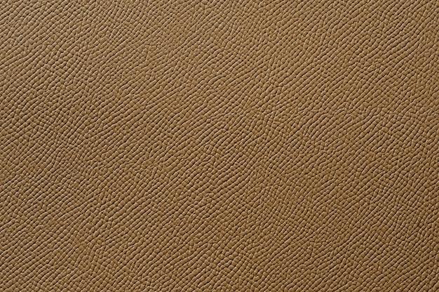 Close-up van naadloze bruine leertextuur voor background