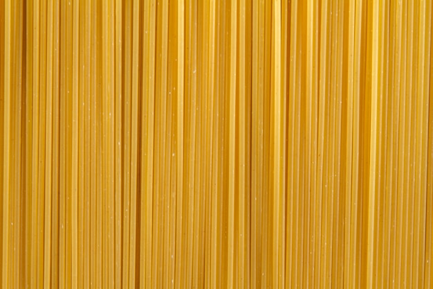 Close-up van ongekookte spaghetti
