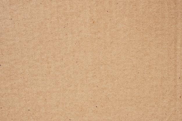 Close-up van oude bruine papieren doos textuur en achtergrond