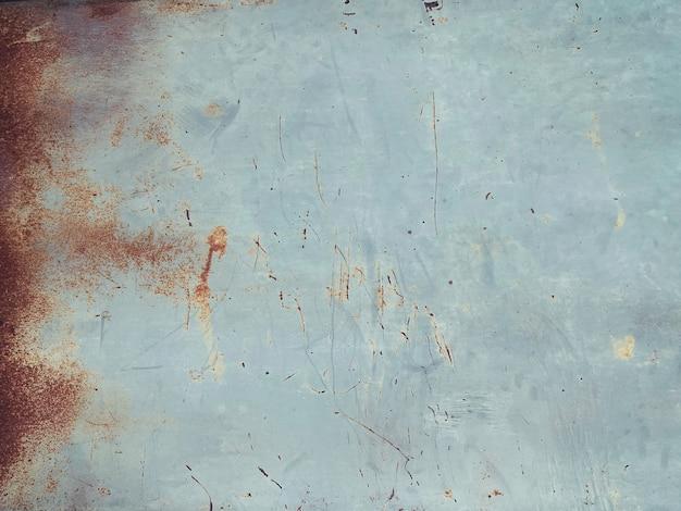 Close-up van oude grunge verroeste metalen textuur en achtergrond met spatie
