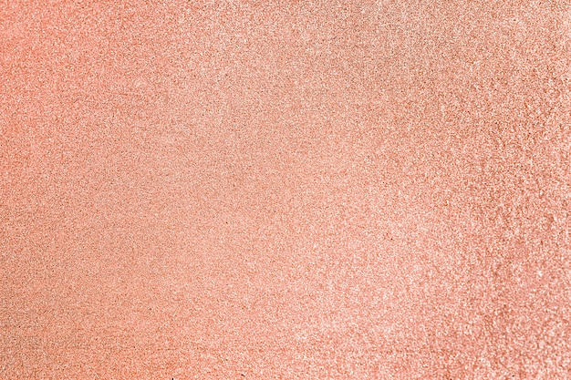 Close up van perzik glitter gestructureerde achtergrond