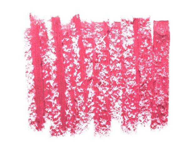 Close-up van roze lippenstift textuur