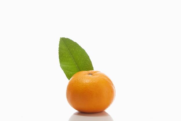 Close-up van sinaasappel