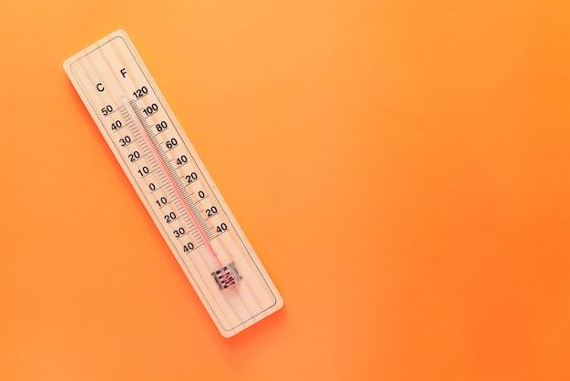 Close-up van temperatuurmeetinstrumenten