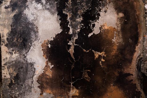 Close-up van verbrande muur. abstracte achtergrond