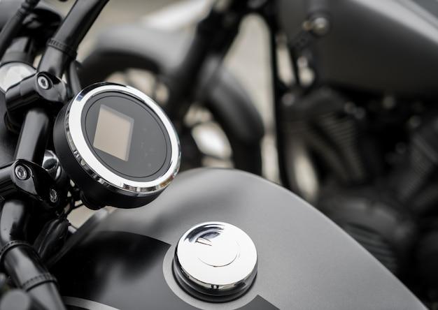 Close-up van vintage motorcycle
