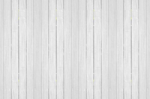 Close-up van witte houten patroon en textuur voor achtergrond. rustieke houten verticaal