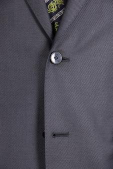 Close-up van zakenman pak met stropdas
