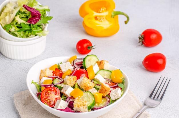 Close-up vegetarische salade
