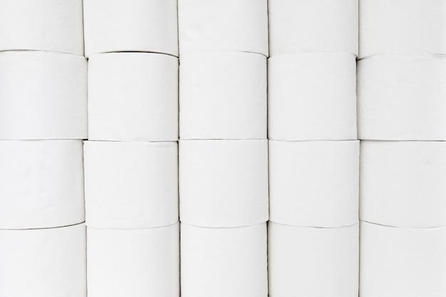 Close-up wc-papier rollen
