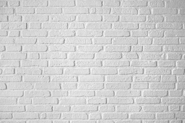 Close-up witte minimale bakstenen muur