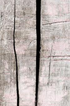 Close-up zwart-witte oude houten textuur