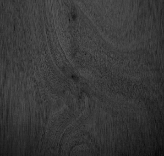 Close-uphoek van houtnerf mooie natuurlijke zwarte abstracte achtergrond leeg voor ontwerp