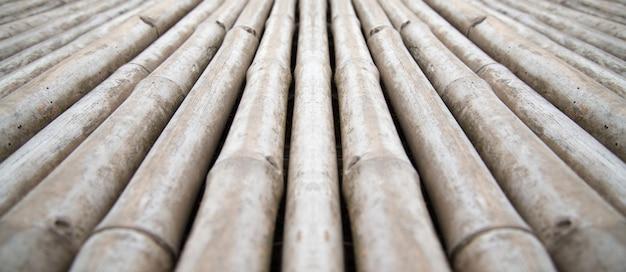 Close-upmening van houten muuroppervlakken voor achtergrond en antieke houten vloeren