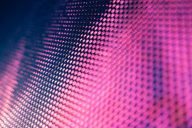 Closeup led wazig scherm. led soft focus achtergrond