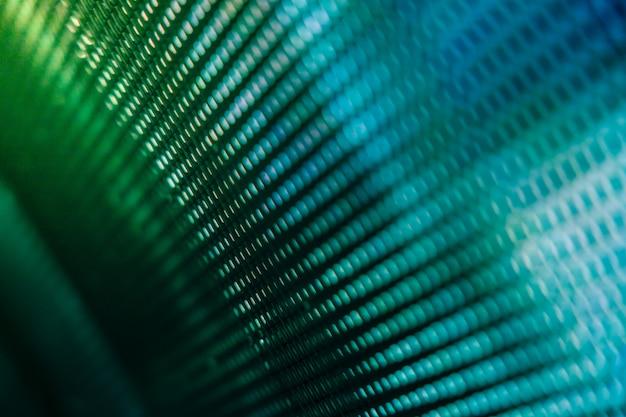 Closeup led wazig scherm. led soft focus muur.