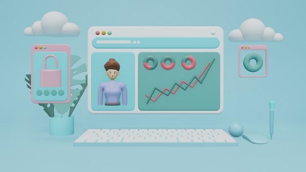 Cloud computing-apparaten met verbindingstechnologie