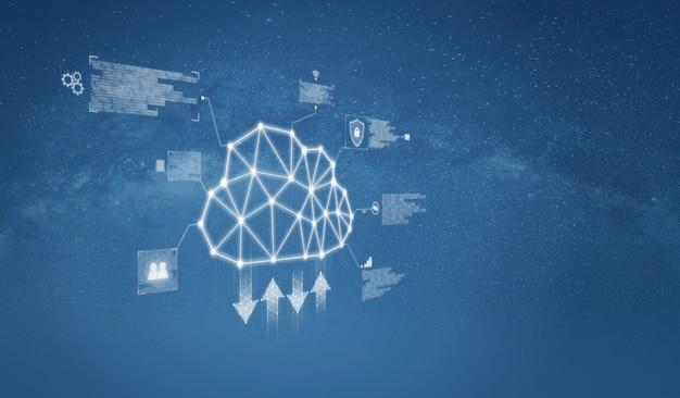 Cloud computing en cloud data-opslagtechnologie