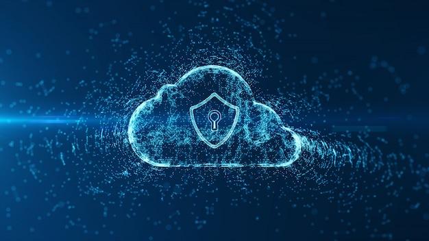 Cloud computing en cyberbeveiliging.