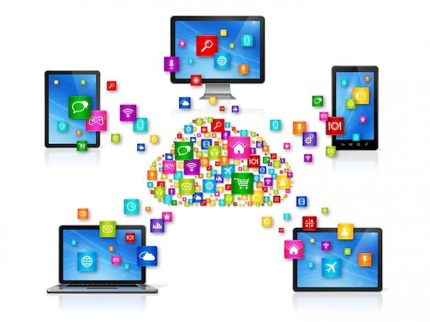 Cloud computing-netwerk