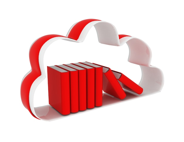 Cloud technologie database concept