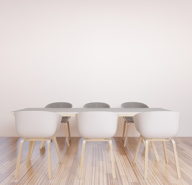 Co-werkruimte, vergaderruimte, brainstormmuur voor werkruimte