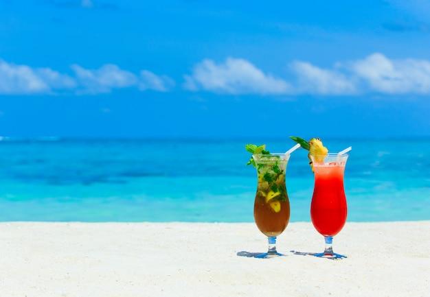 Cocktail op het strand