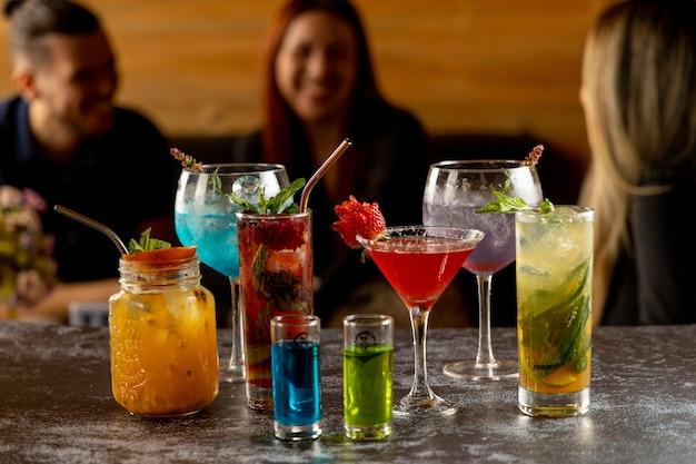 Cocktails delen met vrienden