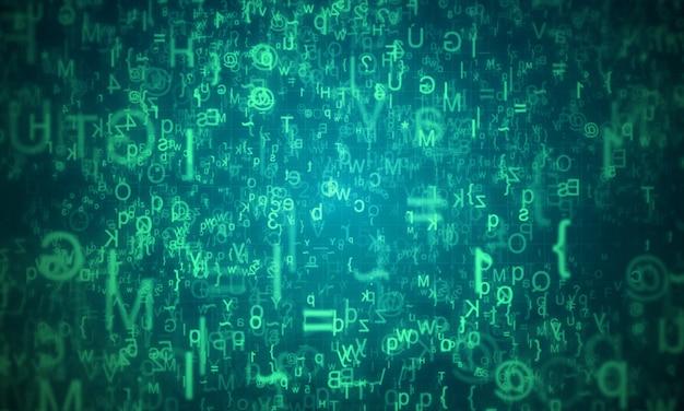 Code beveiligingsachtergrond