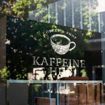 Coffeeshop van buiten