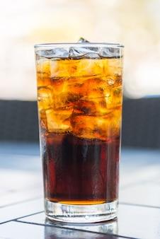 Cola glas