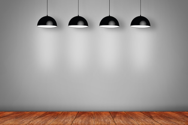 Collage van drie witte fotoframes op de muur