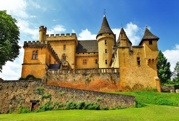 Collectie kastelen van frankrijk, puymartin (departement dordogne)