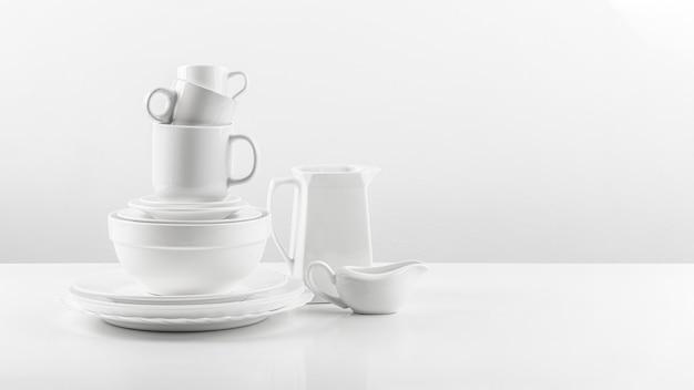 Collectie keramiek serviesgoed