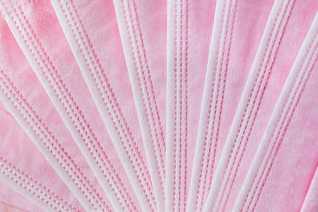 Collectie roze chirurgisch masker