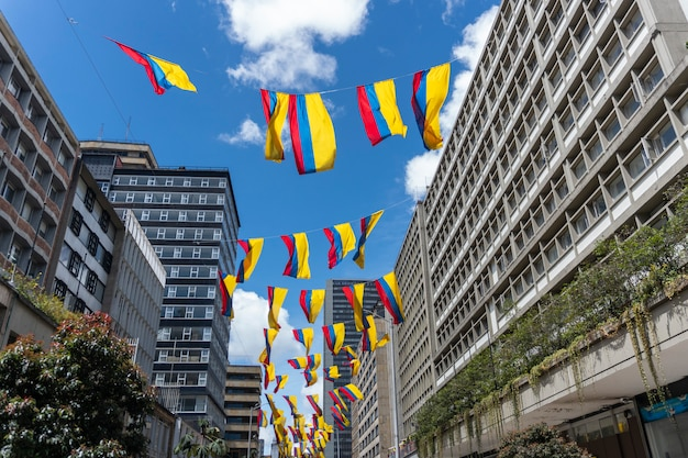 Colombia vlaggen