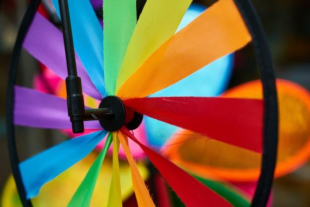 Colorfull windmolen