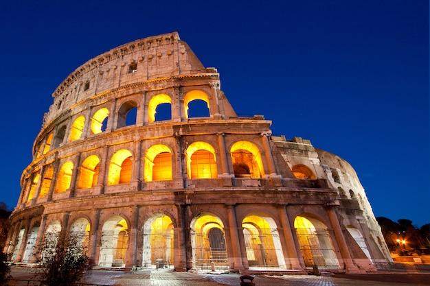 Colosseumkoepel rome italië