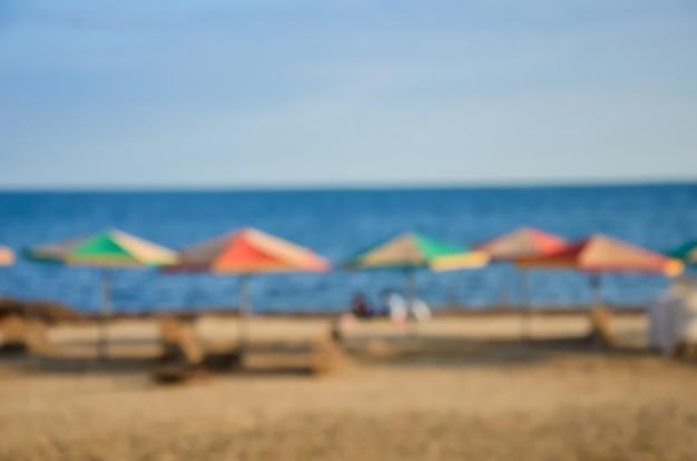 Comfortabele vakantie vlakbij de zee, uitgerust strand