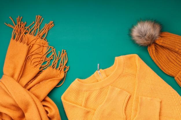 Comfortabele warme outfit voor koud weer
