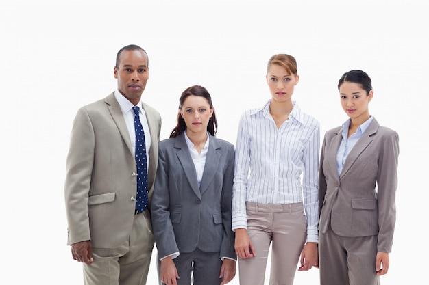 Commercieel team zij aan zij