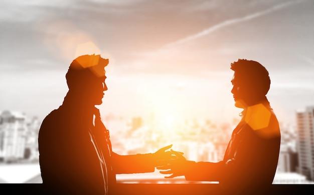 Communicatie naar voorstel contract join venture capital